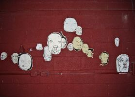 Untitled - Floating Heads by ZombAug