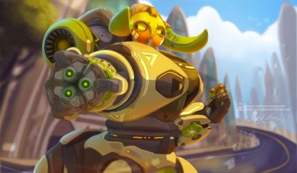 Orisa by ArtKitt-Creations