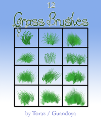 Grass brushes by DRGNFL