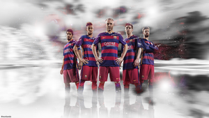 FC Barcelona 2016 wallpaper by MorBarda