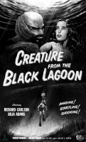 Creature From The Black Lagoon fan poster by vitorgorino