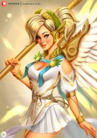Mercy Summer Games Skin 2017 by Didi-Esmeralda