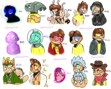 theyre not people morty, their mortys by MYSTERlOS