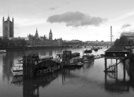 River Thames by UdoChristmann