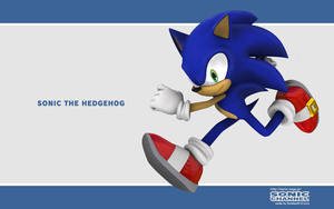 Sonic (Sonic Channel style) by itsHelias94