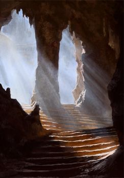Khao Luang cave by PiotrDura