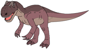 Allosaurus by kylgrv