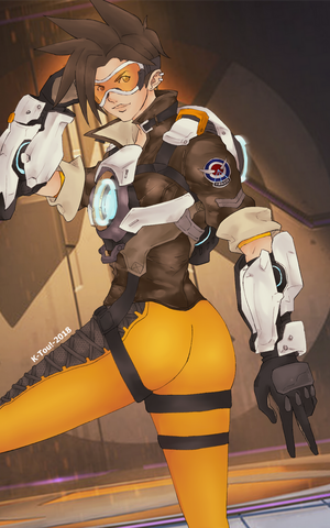 Overwatch: Tracer by ktou