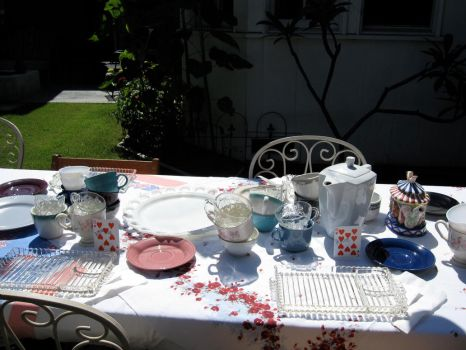 Tea Party 8 by Trisa-Sxy-Stock
