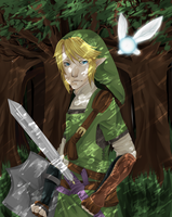 LOZ:: The Forest by Pandastrophic