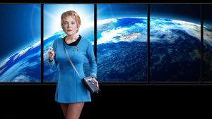 Kes Jennifer Lien in Retro Star Trek by gazomg