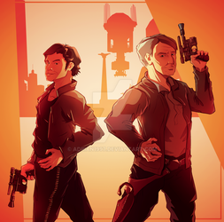 Old vs New: Han Solo by adrian1997