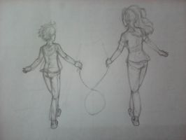 Separated but Connected (Sketch Version) by Sendaira