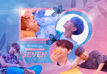 PNG PACK: SEVENTEEN (YMMD 'Set The Sun' Ver.) by Hallyumi