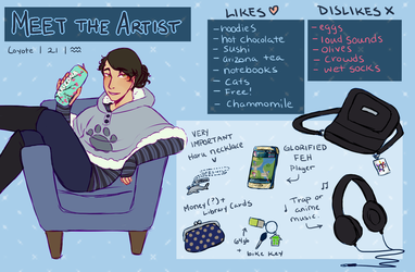 Meet The Artist by Coyoteclaw11