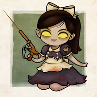 Bioshock - Little Sister by beyx