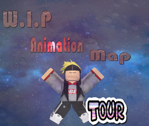 [Roblox] Icon for my WIP animation map... by Chimera-suzy