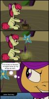 MLP short: Growing potion by FrenkieArt