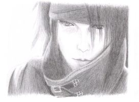 Vincent Valentine by justMelody
