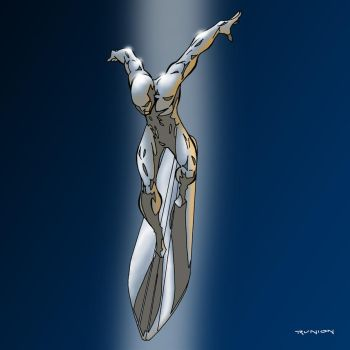 Silver Surfer by arunion