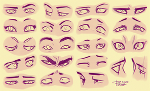 Eyes 3 by GoldenTar