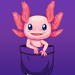 DesignbyHumans Design of the Day - Pocket Axolotl by SarahRichford