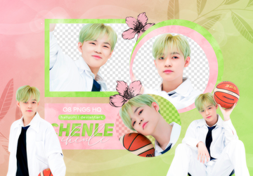 PNG PACK: Chenle #2 (WE GO UP) by Hallyumi