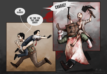 The Evil Within - CHARGE! by MimmuArt