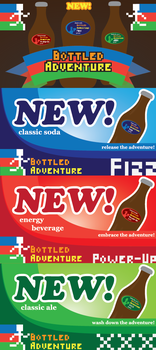 Beverage Advertisements by WolfTron