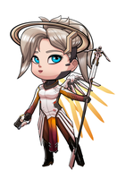 Chibi mercy by raulovsky