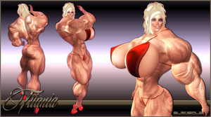 TITANIA: PLATINUM BLOND MUSCLE by SLMUSCLE