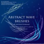 Abstract Wave Brushes by differentxdreamz