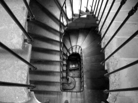 Escalier by Aufrah