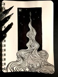 Inktober 8: Star by Size-And-Stupidity