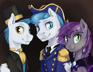 Commission: Family Portrait by SilFoe