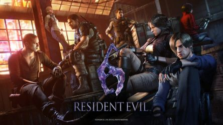 Resident Evil 6 - Anniversary Wallpaper by TheARKSGuardian