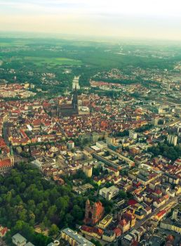 Ulm from above I by Life-For-Sale