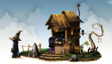Wizard Post Office by Indy-K