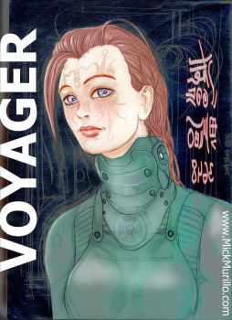 Voyager (Andrea) by MickMurillo