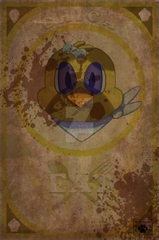 Chica Poster by MrMittensMeow