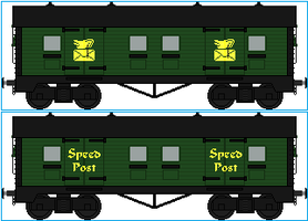 Speed Post Vans by Galaxy-Afro