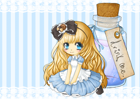 Alice - Drink me by linkitty
