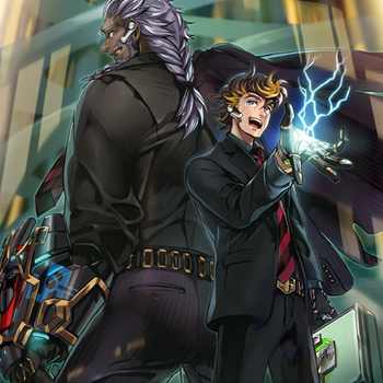 SPYRAL Double Helix by Yugi-Master