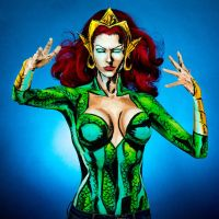 Mera Bodypaint by KayPikeFashion