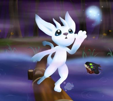 Ori and the Blind Forest by VioletDanka-n-Silly