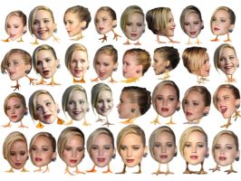 Jennifer Lawrence 108 by CelebrityHeads