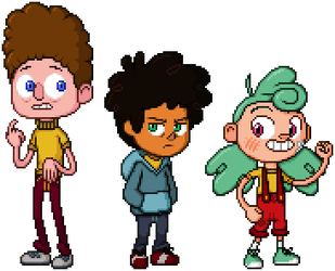 Camp Camp - Neil, Max and Nikki by KentoBalisto