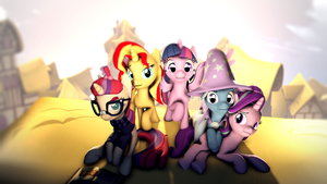 The Magical Quintet! by Wintergleam