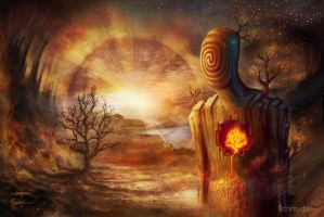 Fire Within The Flames by digitalreflexion