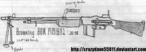 Browning BAR M1918A2 by CrazyDave55811